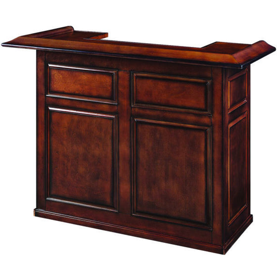 "60"" Dry Bar - Chestnut Finish - Man Cave Boutique"