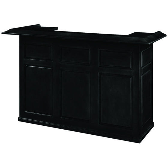 72″ Dry Bar - Black - Man Cave Boutique