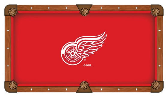 Detroit Red Wings ® NHL Logo Pool Table Cloth - Man Cave Boutique