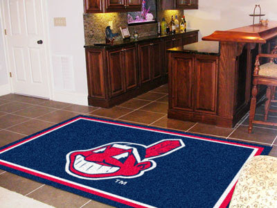 Rug 5x8 Cleveland Indians MLB - Man Cave Boutique