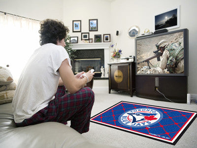 Rug 4x6 Toronto Blue Jays MLB - Man Cave Boutique