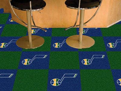 Utah Jazz NBA Carpet Tiles - Man Cave Boutique