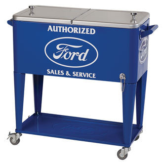 Ford Rolling Cooler - Man Cave Boutique