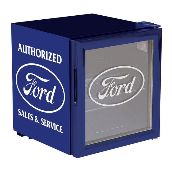Ford Beverage Chiller - Man Cave Boutique