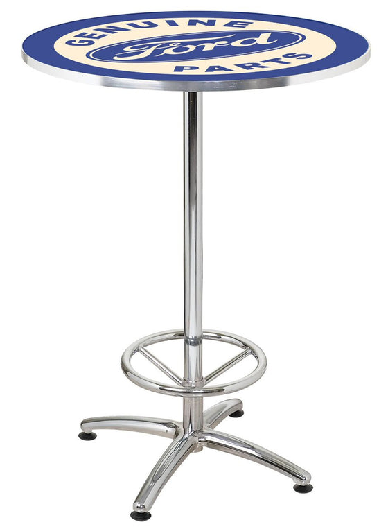 Ford Genuine Parts Cafe Table - Man Cave Boutique