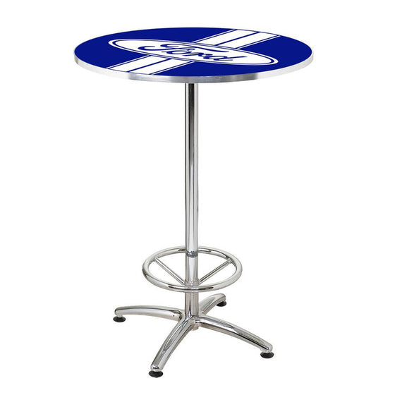 Ford Stripes Cafe Table - Man Cave Boutique
