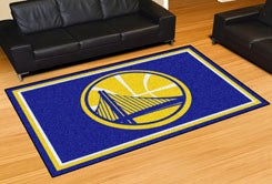 Rug 5x8 Golden State Warriors NBA - Man Cave Boutique