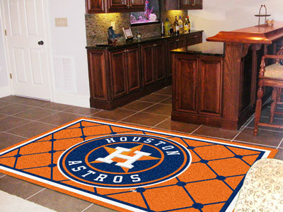 Rug 5x8 Houston Astros MLB - Man Cave Boutique