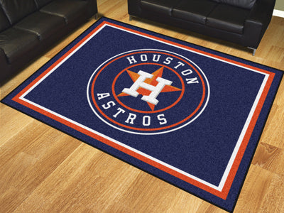 Rug 8x10 Houston Astros MLB - Man Cave Boutique