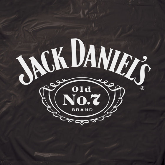 Jack Daniel's® Black Vinyl Pool Table Cover - 8 ft. - Man Cave Boutique