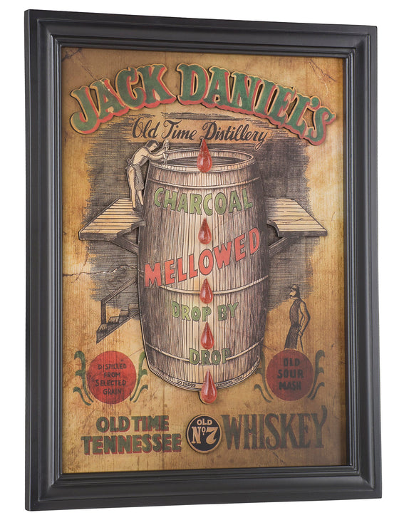 "Jack Daniel's® Framed Pub Sign 17.5""W x 22.5""H - Man Cave Boutique"