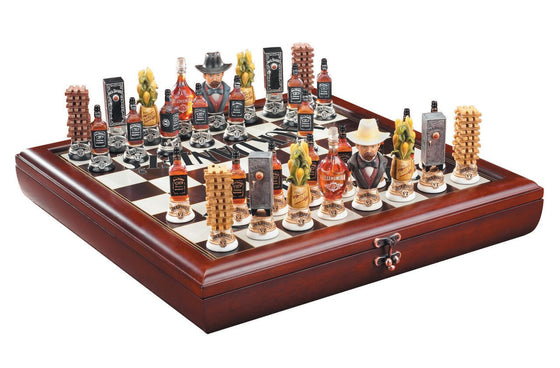 Jack Daniel's ® Chess Set - Man Cave Boutique