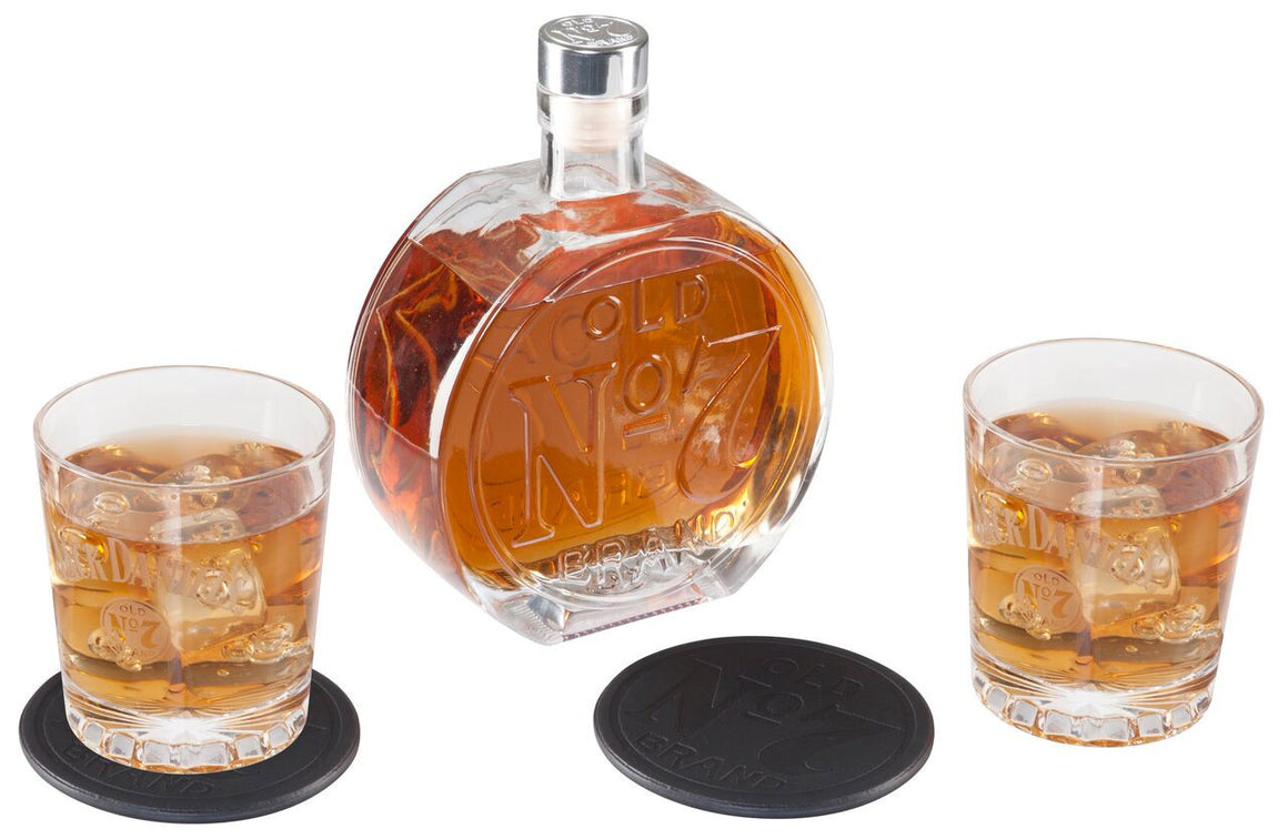 Jack Daniel's ® Old No. 7 Brand Decanter Set - Man Cave Boutique
