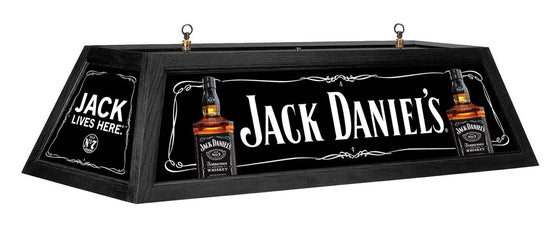 Jack Daniel's Billiards Lamp Old No. 7 Brand Logo - Man Cave Boutique