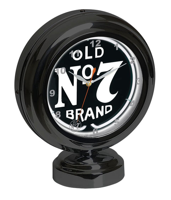 "11"" Jack Daniel's ® Tabletop Neon Clock - Man Cave Boutique"