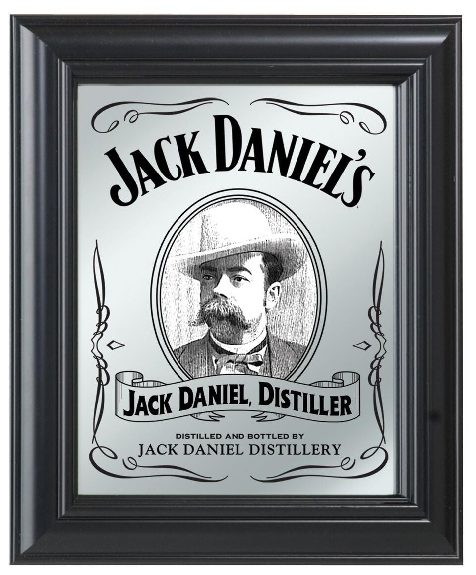 Jack Daniel's ® Portrait Mirror - Man Cave Boutique