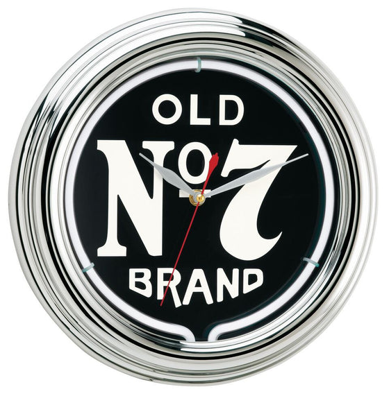 "12"" Jack Daniel's ® Old No. 7 Neon Clock - Man Cave Boutique"