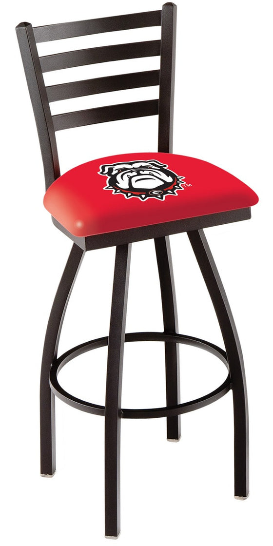 Georgia Bulldogs Logo Counter Stool L014 - Man Cave Boutique