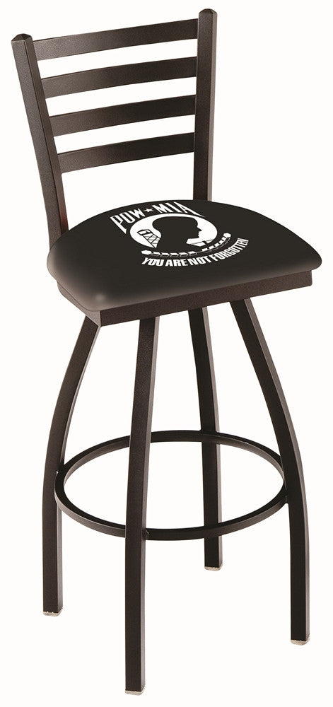 POW/MIA Logo Counter Stool - Man Cave Boutique
