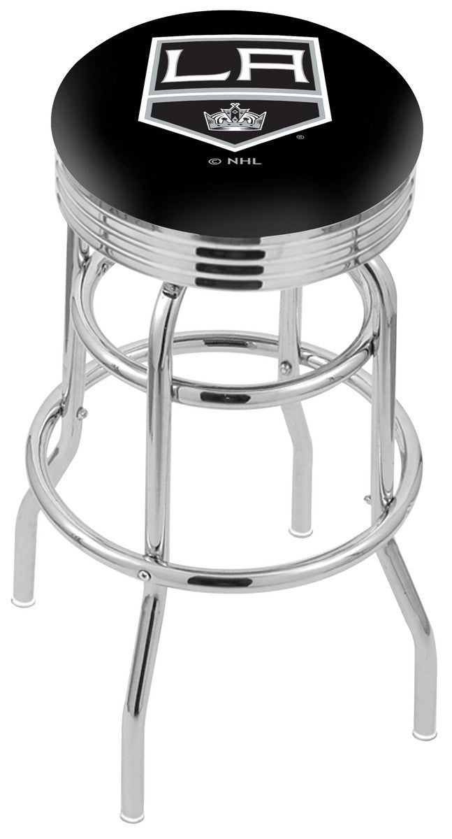 Los Angeles Kings NHL Logo Bar Stool - Man Cave Boutique