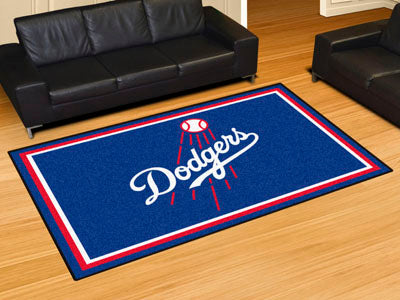 Rug 5x8 Los Angeles Dodgers MLB - Man Cave Boutique