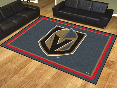 Rug 8x10 Vegas Golden Knights NHL - Man Cave Boutique