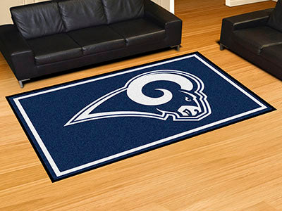 Rug 5x8 Los Angeles Rams NFL - Man Cave Boutique