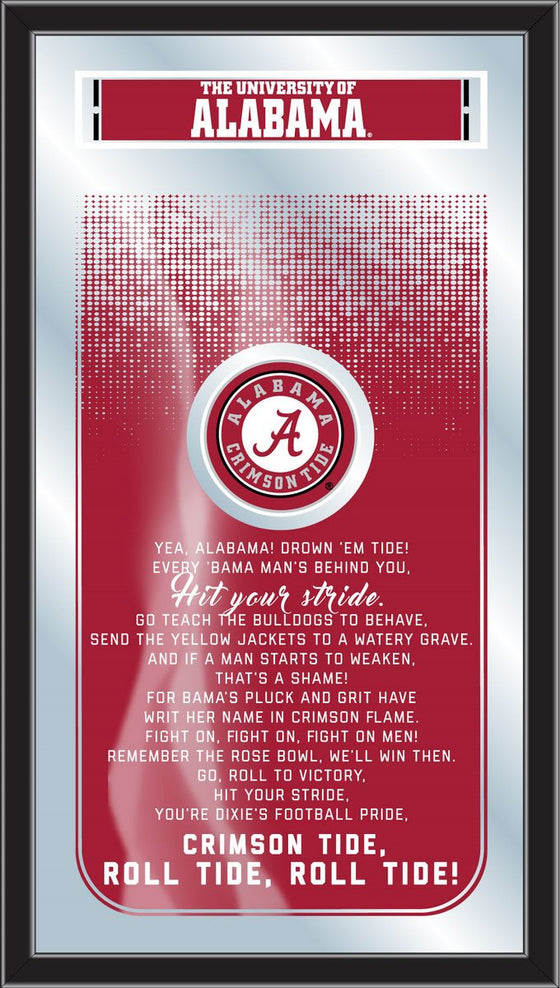 Alabama Fight Song Mirror - Man Cave Boutique