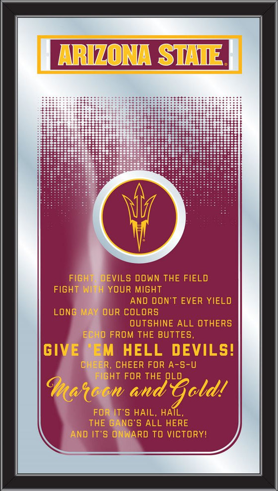 Arizona State Fight Song Mirror - Man Cave Boutique