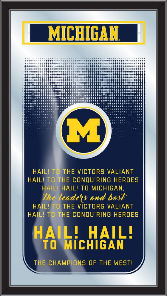 University of Michigan Fight Song Mirror - Man Cave Boutique