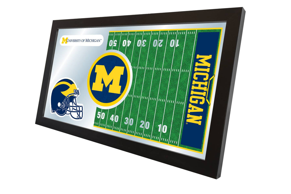 University of Michigan Football Mirror 15x26 - Man Cave Boutique