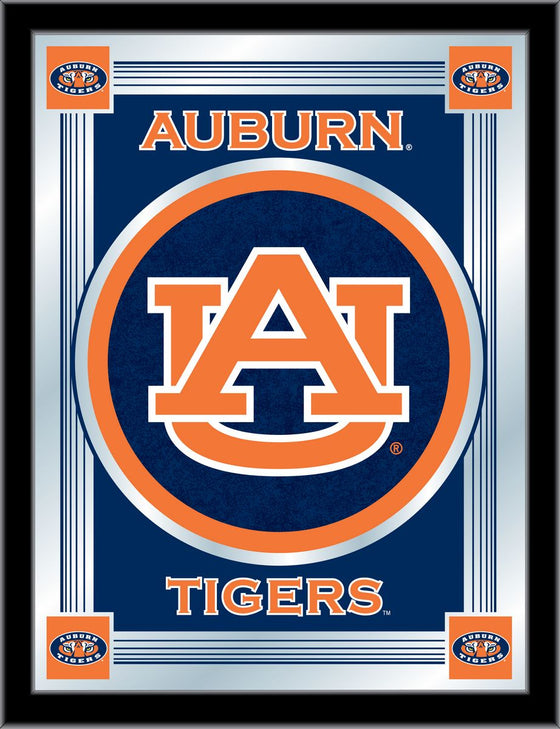 Auburn Logo Mirror 17 x 22 - Man Cave Boutique