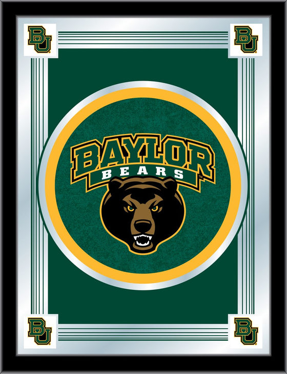 Baylor University Mirror 17 x 22 - Man Cave Boutique