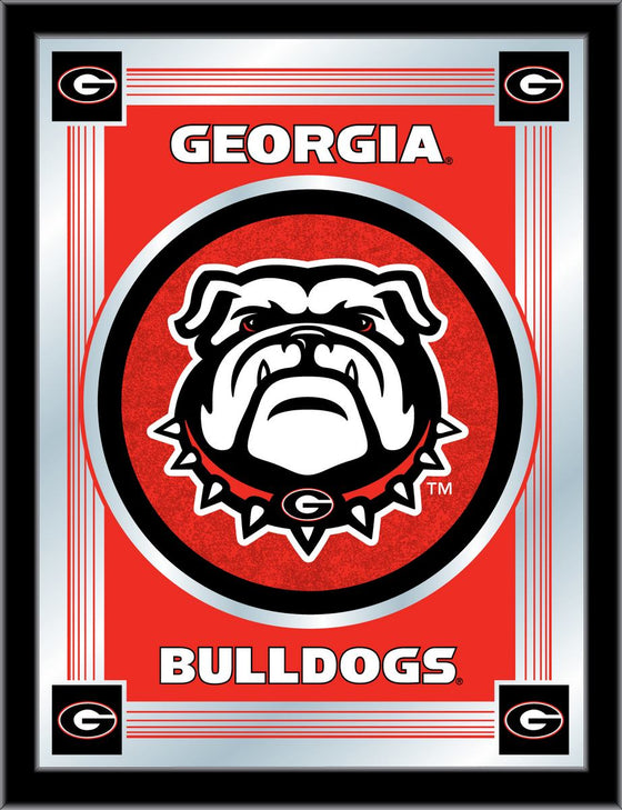 Georgia Bulldogs Logo Mirror 17 x 22 - Man Cave Boutique