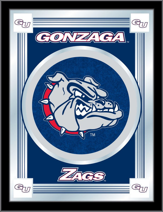 Gonzaga University Logo Mirror 17x22 - Man Cave Boutique