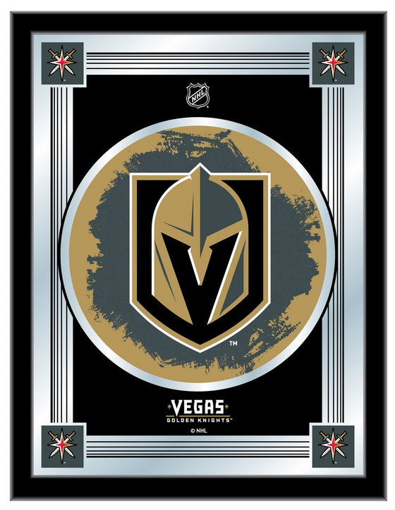 Vegas Golden Knights NHL Logo Mirror - Man Cave Boutique