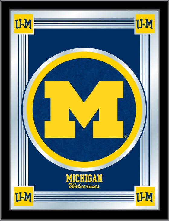 University of Michigan Logo Mirror - Man Cave Boutique