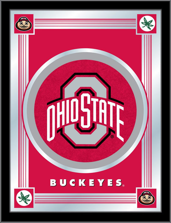 Ohio State University Logo Mirror 17 x 22 - Man Cave Boutique