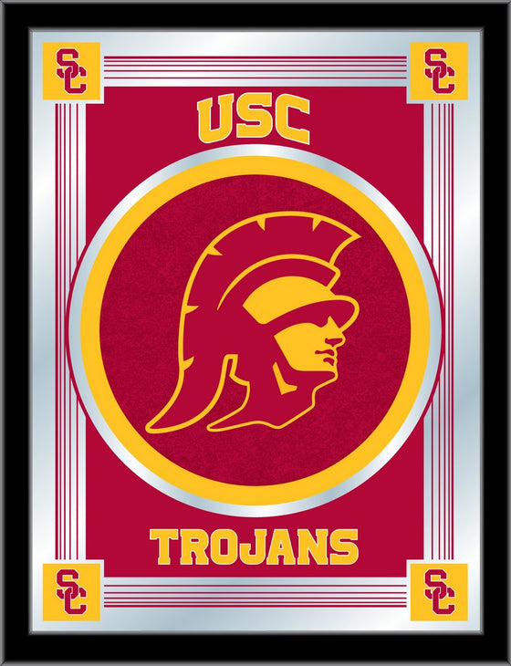 USC Logo Mirror 17 x 22 - Man Cave Boutique