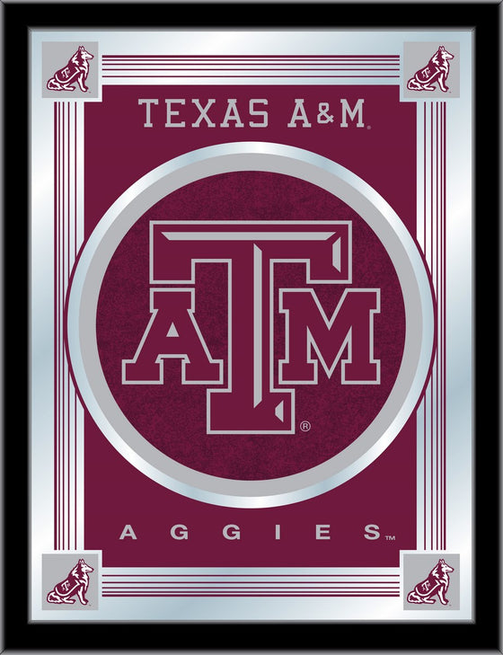 Texas A&M Logo Mirror - Man Cave Boutique
