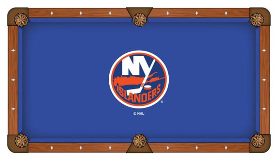 New York Islanders ® NHL Logo Pool Table Cloth - Man Cave Boutique