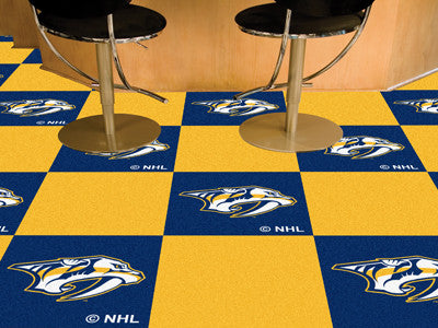 Carpet Tiles Nashville Predators NHL - Man Cave Boutique
