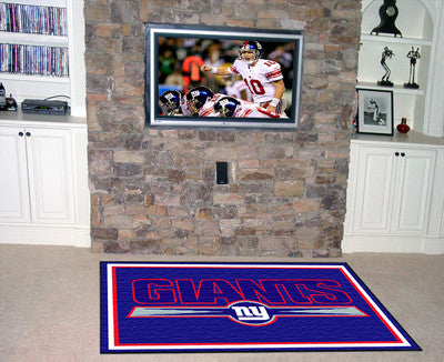 Rug 4x6 New York Giants NFL - Man Cave Boutique