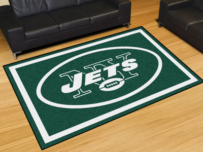 Rug 5x8 New York Jets NFL - Man Cave Boutique