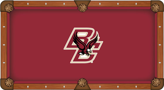 Boston College Pool Table Cloth - Man Cave Boutique