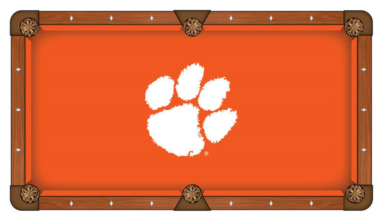 Clemson Pool Table Cloth - Man Cave Boutique