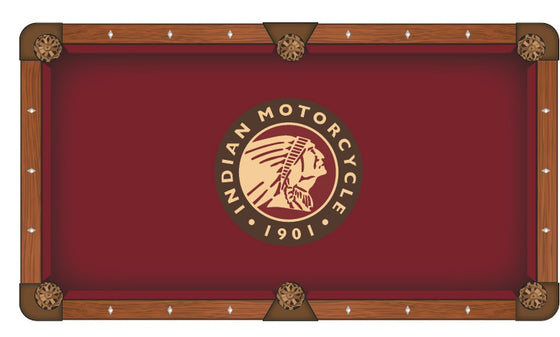 Indian Motorcycle Pool Table Cloth - Man Cave Boutique