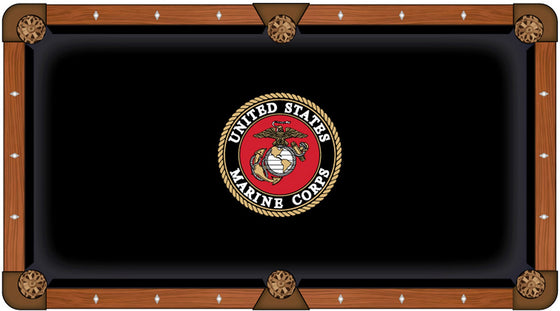 US Marine Corps Pool Table Cloth - Man Cave Boutique