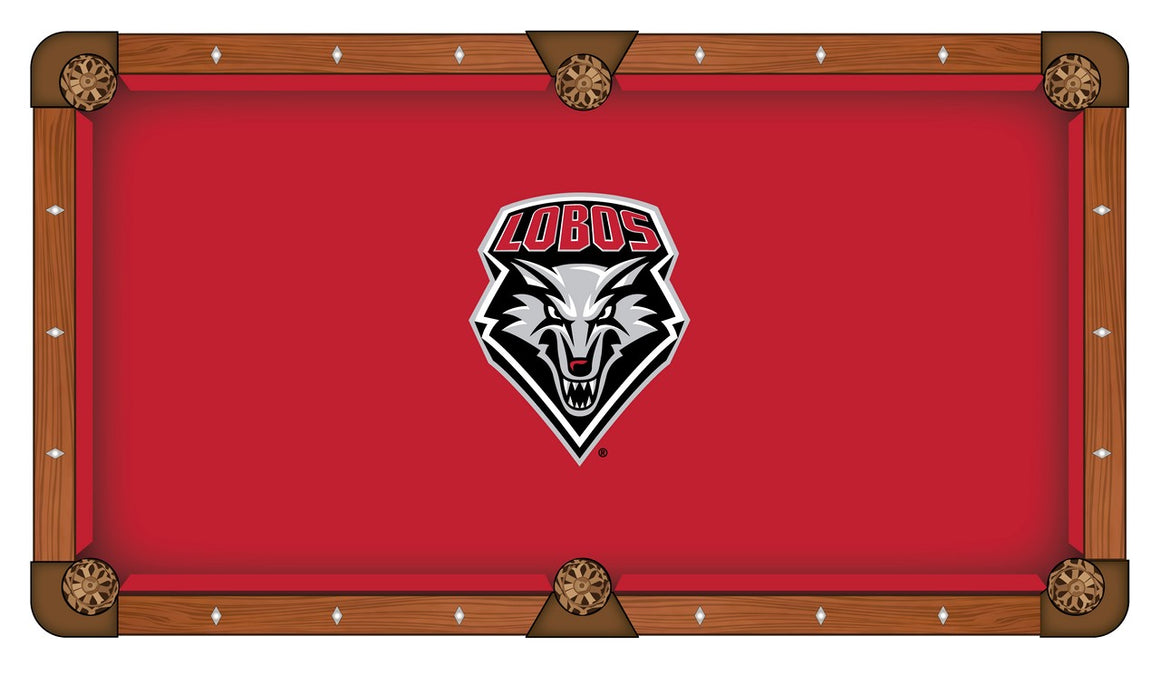 University of New Mexico 8' Pool Table with Bonus Cue Rack - Man Cave Boutique