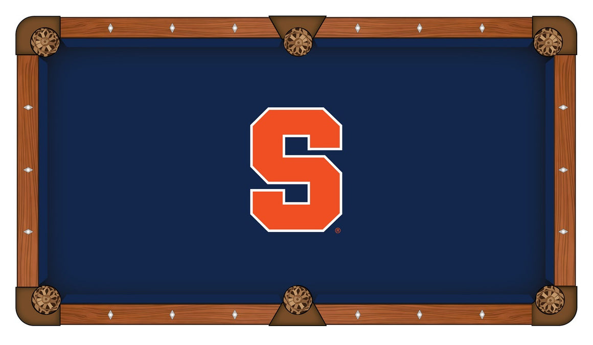 Syracuse University 8' Logo Pool Table - Man Cave Boutique
